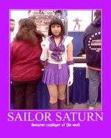 Awesome Cosplayer: Sailor Saturn by MasterRBG