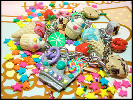 Ultimate Yummy Charm Bracelet by GrandmaThunderpants