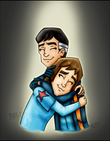 SR:TNG-Father and Son by DragonPhantom15