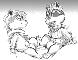 More OC munks by Duiker
