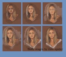 working Stages of Buffy by Cute-spider86