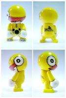 The Yellow Dino Trexi Custom by theyellowdino