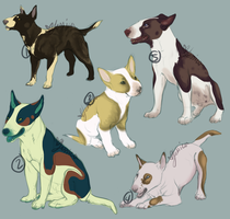 Free Bull terrier Dopts (CLOSED!) WINNERS DECIDED! by Ticklebutt
