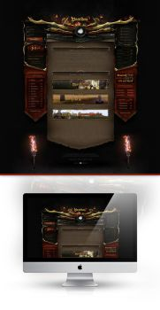 Poseidon 2 Webdesign by iKyroja