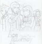 Ace Attorney Badd Karma by CrazyMouseInc