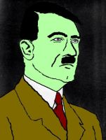 Zombie Hitler by meeish