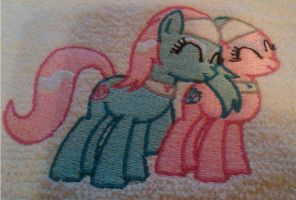 Aloe and Lotus Embroidered by EthePony