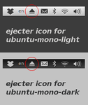 Ejecter Monochrome Icons by AlexEdvans