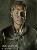 The Walking Dead: Governor : Anisotropic Filter by nerdboy69