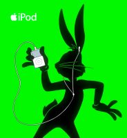 iPod BUGS BUNNY by Jerome-K-Moore