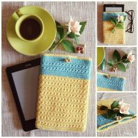 Crochet device cover by SuniMam