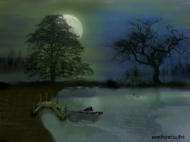 Silent night - Abendstille by rembrantt