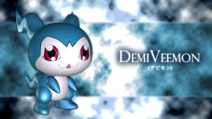 DemiVeemon 3d by me by EAA123