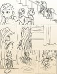 Chapter 12 page 3 sketch by FlyingPony