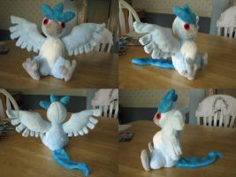 Articuno Plush by HottieHulio