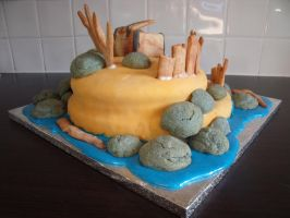 Pirate Island Cake 4 by BevisMusson