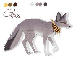 Glass reference sheet by FresiaX