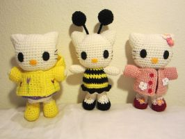 Spring Hello Kitty Set by aphid777