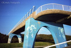 Blue bridge by TLO-Photography