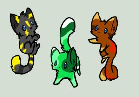 Kitten Adoptables #2 - Name Your Price by Kurai-Uma-Adoptables