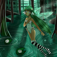 A Lily amongst the Swamp Ver.2 by c-e-p-h