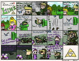 The Adventures of Link 11 by Monotypical