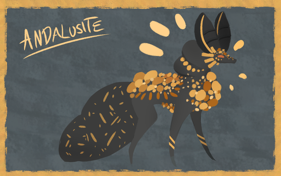 Andalusite Core Wolf New Ref by AstraGalactica