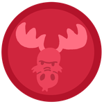 Screaming Moose Symbol by pixiesera