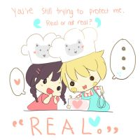 Real or not real ~ by shelliihe