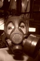 Gas mask 1057 by thecapricorn