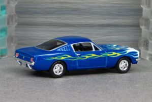 1965 Shelby Mustang GT350 - blue r cotd - HWC by Deanomite17703cotd