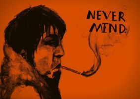 Never Mind (dual color) by shellanime
