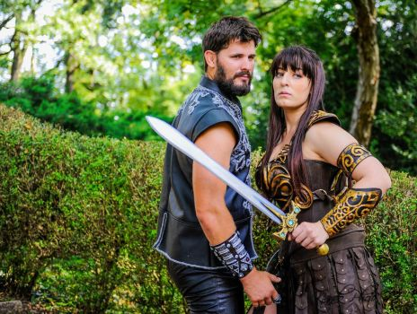 Xena and Marte by CalipsoCosplay