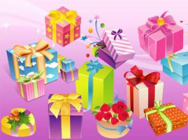 Free Vector Gift by VectorDownload