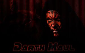 Darth Maul Wallpaper by PhantomKat813