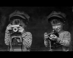 the little photographer by durcka