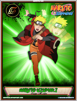 Naruto Uzumaki ~Sage Mode~ by AbDoUGh