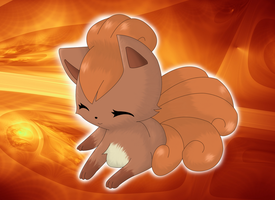 Chibi Vulpix Photoshopped by Conor332211