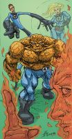 Fantastic Four by JAG by Mortal-Mirror