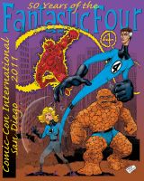 50 Years of the Fantastic Four by MartySalsman