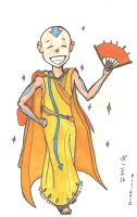 Aang's New Dress by Lord-Falkner