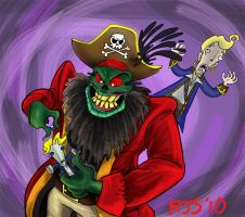 ZAD9- LeChuck by ronnieraccoon