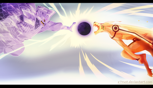Naruto 695 The Clash by X7Rust