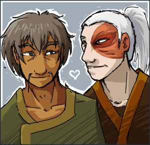 Fanart Gallery: Avatar by AliWildgoose on DeviantArt Zuko And Aang Yaoi