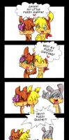 Fuzzy....something - comic by KeyshaKitty
