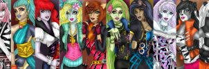 MONSTER HIGH. by kotalee