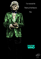 The Third Doctor - colour by The-13th-Doctor
