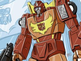 Rodimus Prime by OptimusPraino