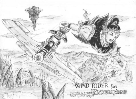 WIND RIDER feat GARUDAYANA by alich4rt