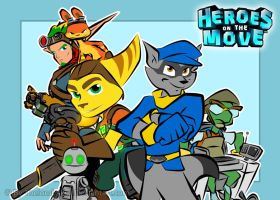 Heroes on the Move by RatchetMario